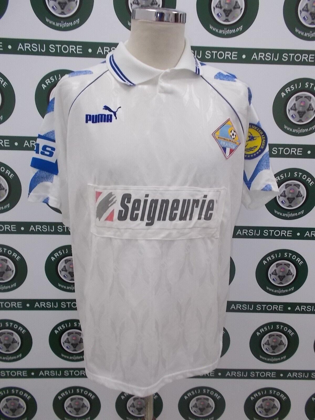 Maglia calcio shirt maillot trikot BEACH SOCCER FRANCIA AMgoldS MATCH WORN