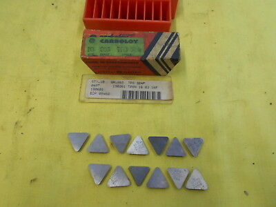 10 CARBOLOY USA TNMG 322 E INDEXABLE CARBIDE INSERTS lathe mill tool bits
