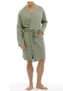 RRP £24.99 TOM FRANKS MENS LIGHTWEIGHT LOUNGEWEAR JERSEY WRAP DRESSING GOWN