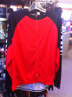 Men's Cycling Jersey Color Is Red Size Is X-large Xl