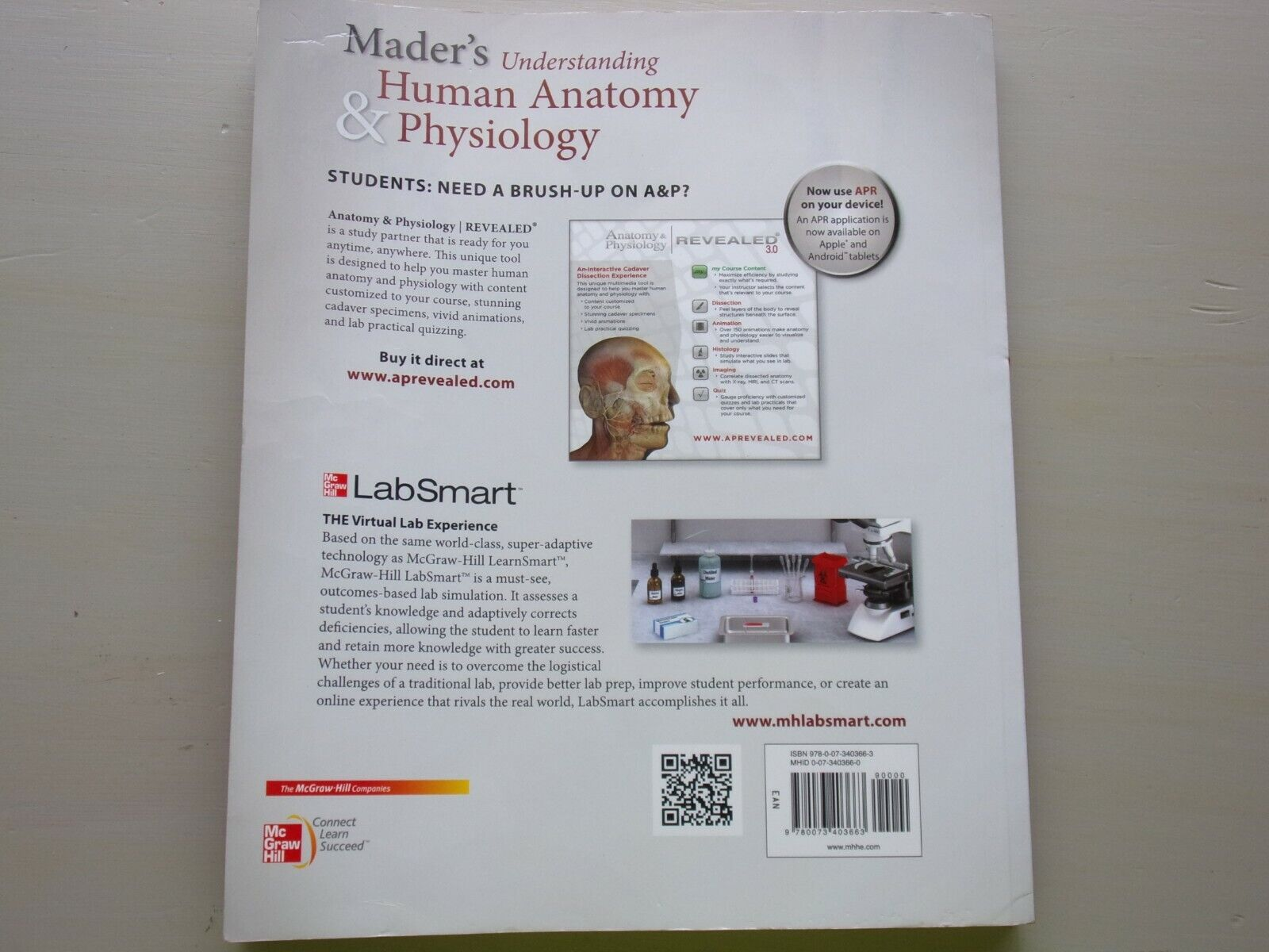 Mader's Understanding Human Anatomy and Physiology by Susannah Longenbaker  (2013, Paperback)