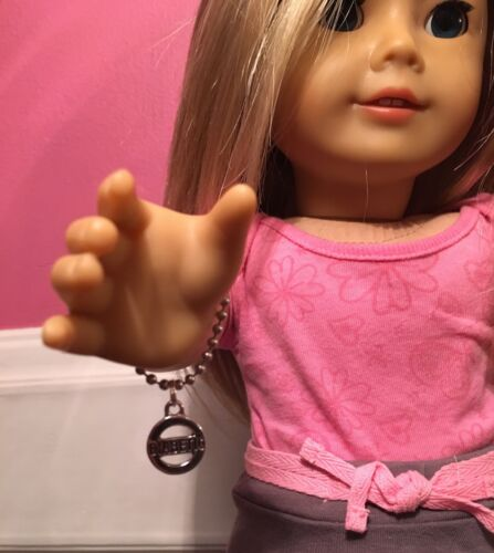 American Girl Sz Bracelet /& Necklace Type 1 Diabetes Medical Alert 100/% Donation