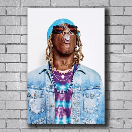 New Young Thug Rapper Smoke Music Singer Custom Poster Print Art Decor T-157