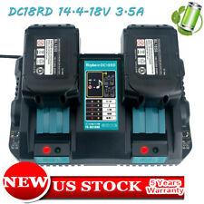 Makita DC18RD 18-Volt Li-Ion Dual Port Rapid Charger