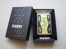BRIQUET ZIPPO - GREEN LIZARD