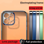 thumbnail 4 - For iPhone 12 13 Pro Max 11 XR XS 7 8 SE Plating Soft Silicone Clear Case Cover