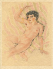 Edouard Chimot Modern Reprint - Roses des sables #13 - Ready to frame