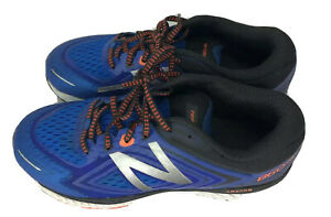 New-Balance-860v8-Mens-Size-7-Athletic-Running-Sneakers-Blue-w-Orange-Trim