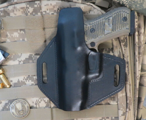 Concealed Carry Made in USA Leather Holster for Sig Sauer P220R With Rail