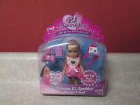 Zizzle P.j. Sparkles Light Up Heart Princess Pj Sparkles Doll 2008 Pajamas