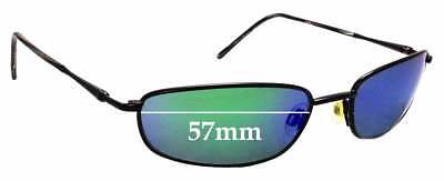 SFX Replacement Sunglass Lenses fits Maui Jim MJ219 Punchbowl 54mm Wide