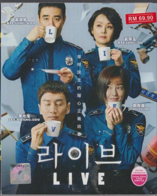 DVD Korean Drama Live Episode 1-18end English Subtitle All Region FREESHIP