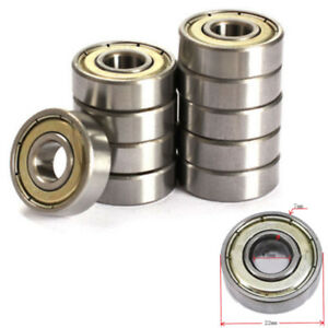 10Pcs-608-623-624-625-626-688zz-Deep-Groove-Ball-Bearing-Miniature-Bearings-NEW