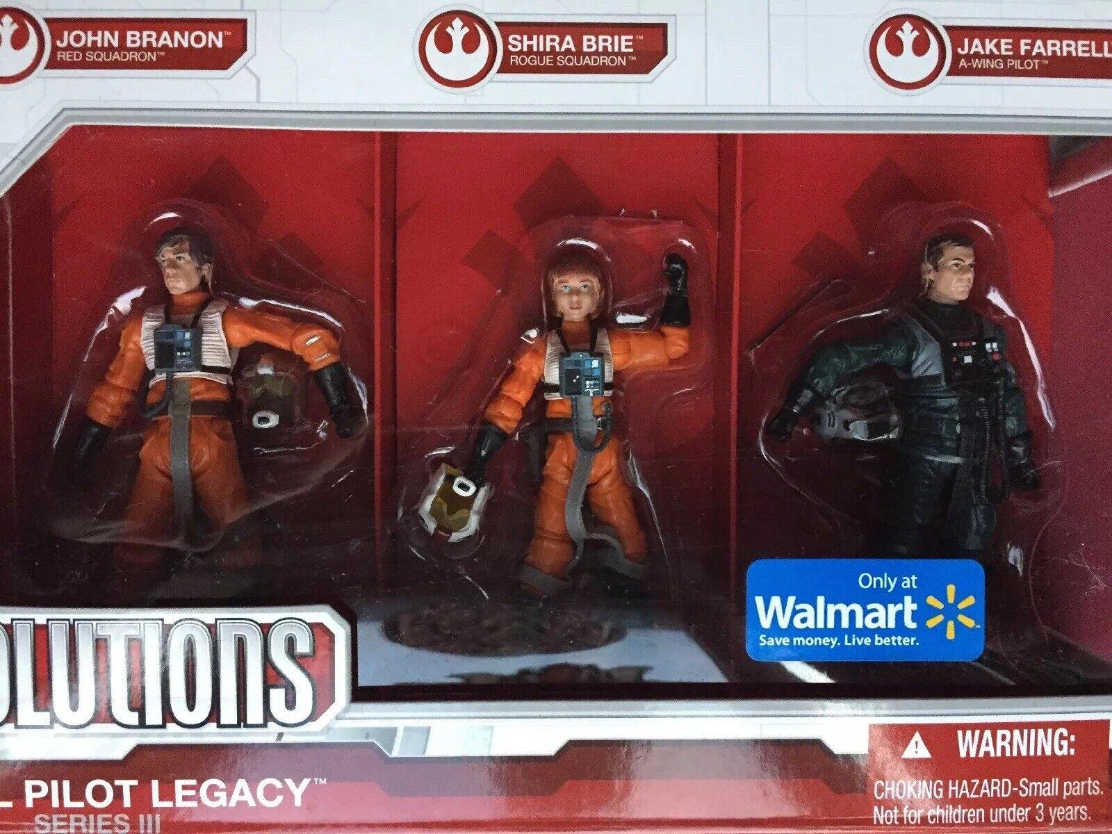 precioso Estrella Wars Legado piloto rebelde Colección Legado evoluciones Walmart Walmart Walmart Exc figura Set  hasta un 70% de descuento