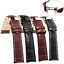 Fashion-Leather-Stainless-Steel-Butterfly-Clasp-Buckle-Watch-Band-Strap-18-22mm thumbnail 2