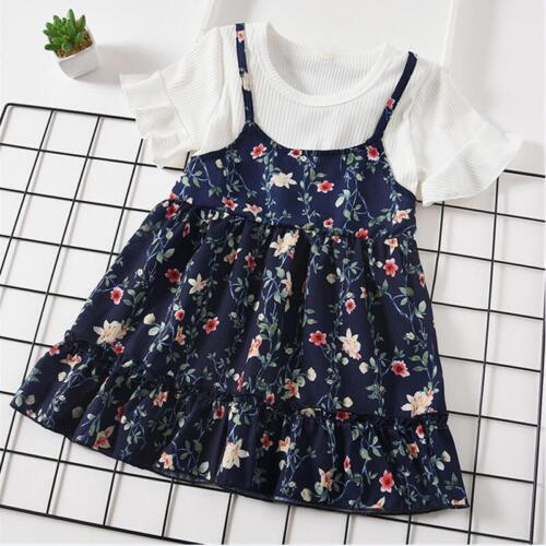 Baby Girl Dress for New Year Toddler Dresses Summer Printing Baby Girl Clothes