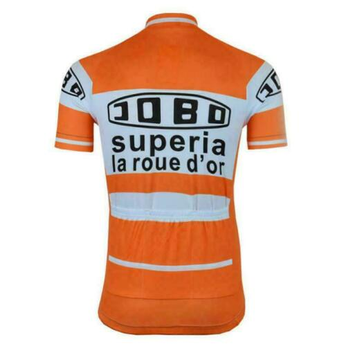 Retro 1978 Jobo Superia cycling Short Sleeve Jersey Cycling Jersey