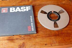 BASF LH Professional Ale TAPE 1/4in Reel 26.5cm + STUDIO MASTER 911 Box Tape