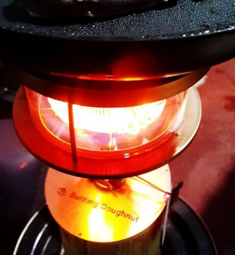 Burning Doughnut  Heater for Gas Stove 2 coils type