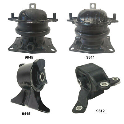 Right /& Rear Motor Mount Set of 3Pcs for Honda Pilot 09-15 V6 3.5L Engine Front