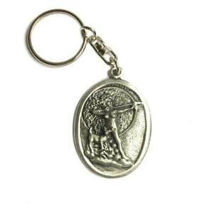 Keychain Greek Goddess Aphrodite Keyring Gift Pouched. handmade in England from Fine English Pewter