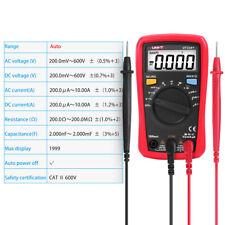 Uni T Ut33adigital Multimeter Lcd Acdc Ohm Voltage Tester Handheld Auto Range