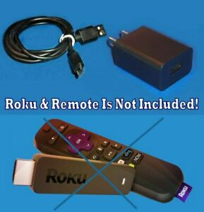 Power-Supply-AC-Charger-Power-Cable-FOR-ROKU-Express-3800-3900-Streaming-Player