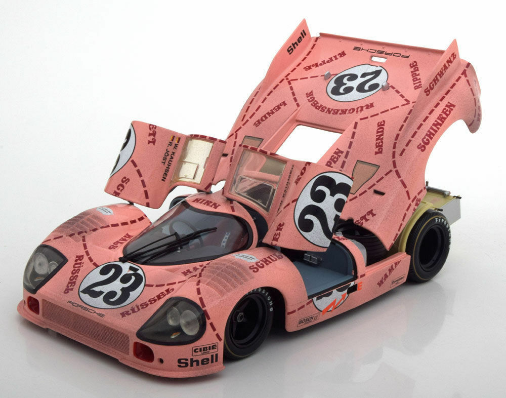 MINICHAMPS PORSCHE 917 20 rose Pig 24 H LE MANS 1971 Dirty Version  23 1 18New