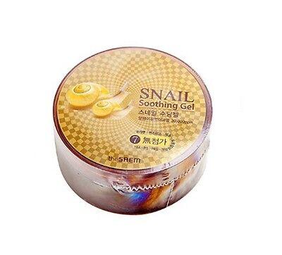 [The SAEM] Snail Soothing Gel 300ml Moisture Soothing Gel Korean Cosmetic