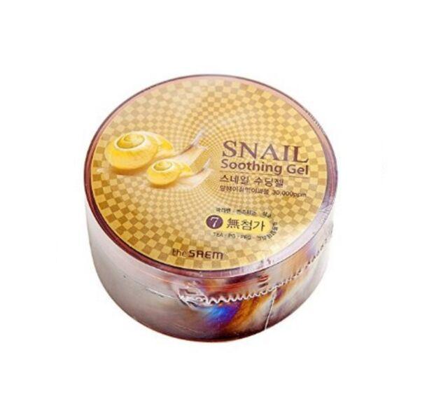 The SAEM - Snail Soothing Gel 300ml Moisture Soothing Gel Korean Cosmetic