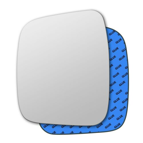 Left Hand Passenger Side Mirror Glass for Fiat Fiorino 2007-2019 0097LS