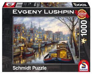 Evgeny Lushpin 1.000 Teile Puzzle Spiel Deutsch 2017 Magische Abendstimmung