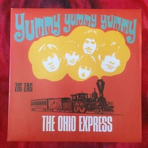 The-OHIO-EXPRESS-Yummy-Yummy-Peace-and-Love-Red-Ronnie-promo-7-034-45-giri-vinyl