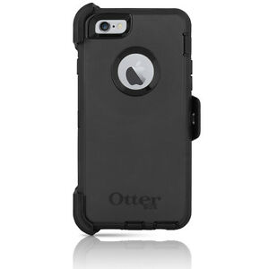 OtterBox-Defender-iPhone-6-6S-4-7-034-Case-amp-Holster-Black-Cover-w-Belt-Clip-OEM