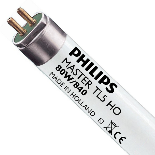 Lot 38 Neon Philips TL5 HO 80W 840 (MASTER) 145cm - Weiß Froid