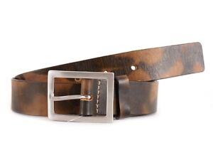 Themata In Cintura Metallo Fibbia Pelle Regolabile Marrone ygYf6b7
