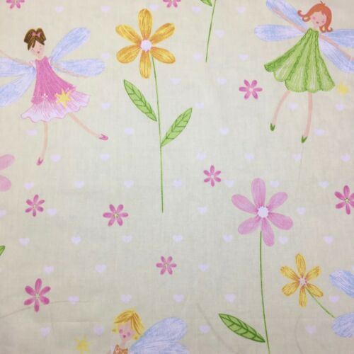1//2 Metre Fairytale Fairy Princess Girl Nursery Decor Sewing Cotton  Fabric