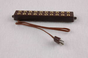 Barre-de-Distributeur-Avec-Cable-de-Raccordement-10-Connexions-2-6mm-Neu