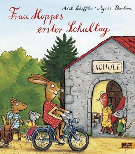 1 von 1 - Frau Hoppes erster Schultag: Vierfarbiges Bilderbuch von S... | Buch | gebraucht