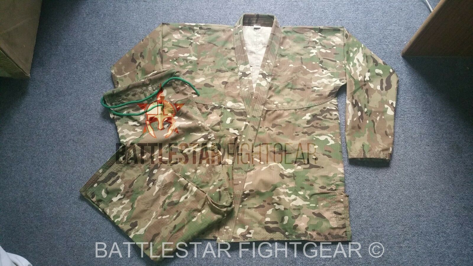 CAMOUFLAGE SUPER LIGHT RIPSTOP TRAVEL SUMMER WEIGHT BJJ KIMONO  JIU-JITSU GI