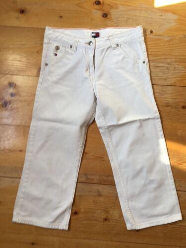 800806fd8b8417 Damenjeans Denim Jeans Hose Damenhose Gr.32/34=XXS/XS HILFIGER weiß w.neu