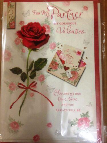 Saint Valentin Carte pour mon partenaire mon magnifique Vous êtes mon amour Et Vous êtes toujours