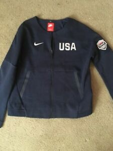 Details about Women's Nike Tech Fleece Team USA Olympics Basketball Full Zip Jacket Sz Large