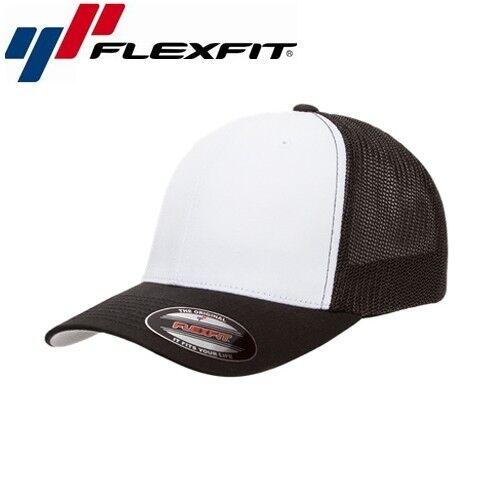 Flexfit Mesh Trucker Trucker Cap S//M Weiß Schwarz