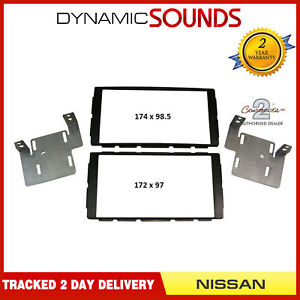 CT23NS18 Car Stereo Double Din Fascia Panel Adaptor For Nissan Note Juke 2014/>