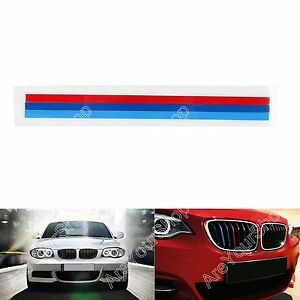 Front Grille Grill Vinyl Strip Sticker Decal For Bmw M3 M5