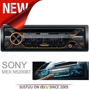 Sony-Car-Stereo-Radio-CD-MP3-USB-AUX-Bluetooth-iPod-iPhone-Android-Illumination