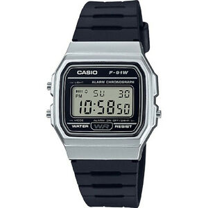 New-CASIO-F-91WM-7A-Stopwatch-Resin-Band-with-Warranty