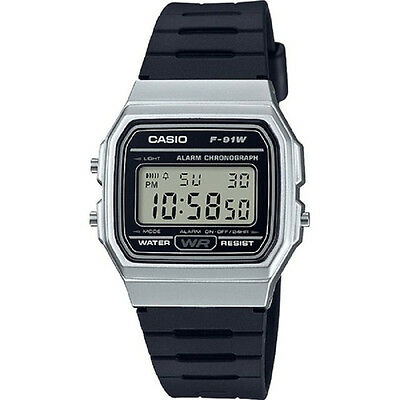 New CASIO F-91WM-7A Stopwatch Resin Band with Warranty