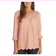 Sale-Gloria-Vanderbilt-Women-039-s-Ladies-039-Woven-Blouse-Roll-Sleeves-S-M-L-XL-XXL thumbnail 7